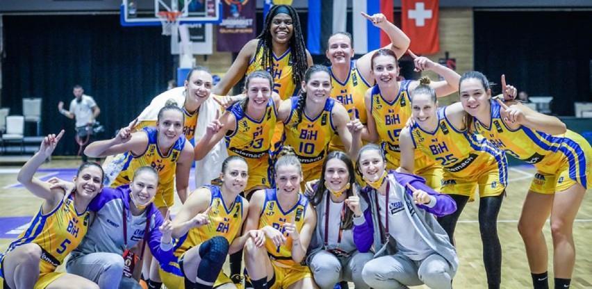Košarkašice BiH u četvrtom 'šeširu' u žrijebu grupa za Eurobasket
