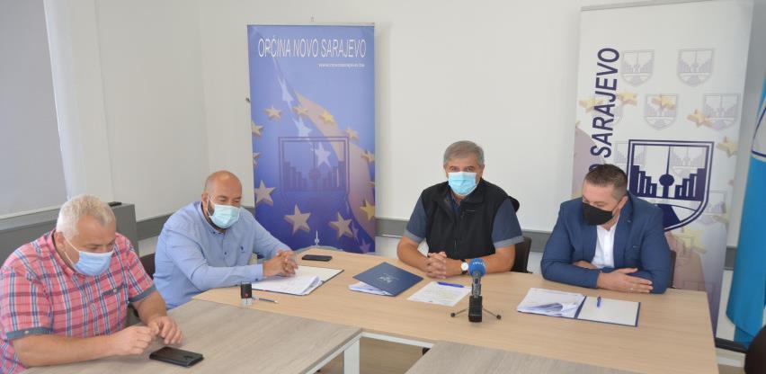 Potpisan ugovor o rekonstrukciji lokalne saobraćajnice u ulici Trebevićka