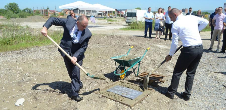 Položen kamen temeljac za izgradnju novog pogona firme Edna Metalworking