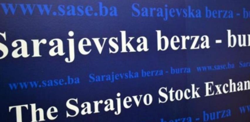 Na Sarajevskoj berzi promet 16.496,56 KM
