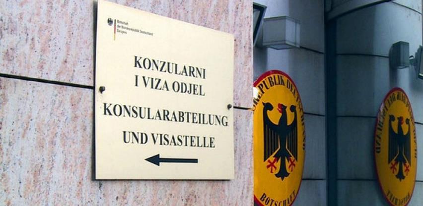 Evo koliko je viza za Njemačku izdato u BiH protekle godine