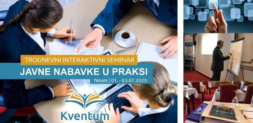 Trodnevni interaktivni seminar - javne nabavke u praksi