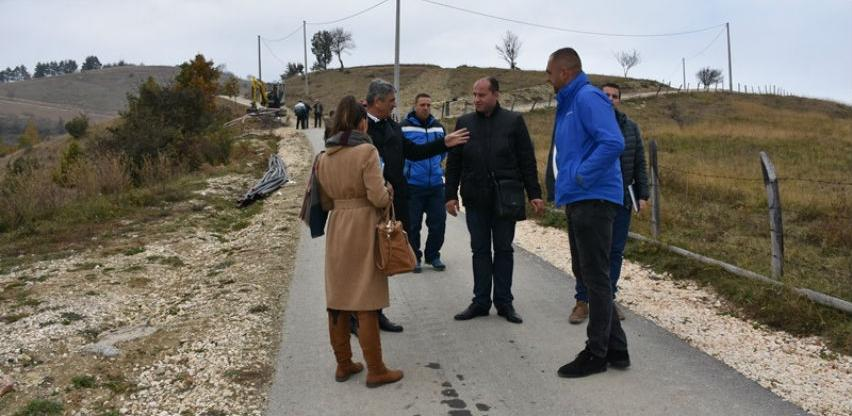 Okončana druga faza izgradnje vodovoda Nahorevo