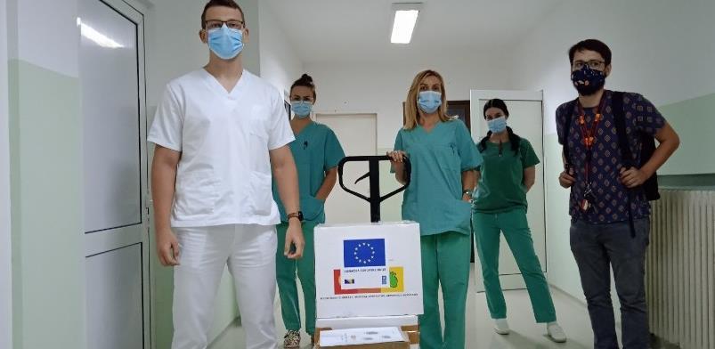 Evropska unija donira 35 EKG monitora i PCR uređaj bh. zdravstvenim institucijama