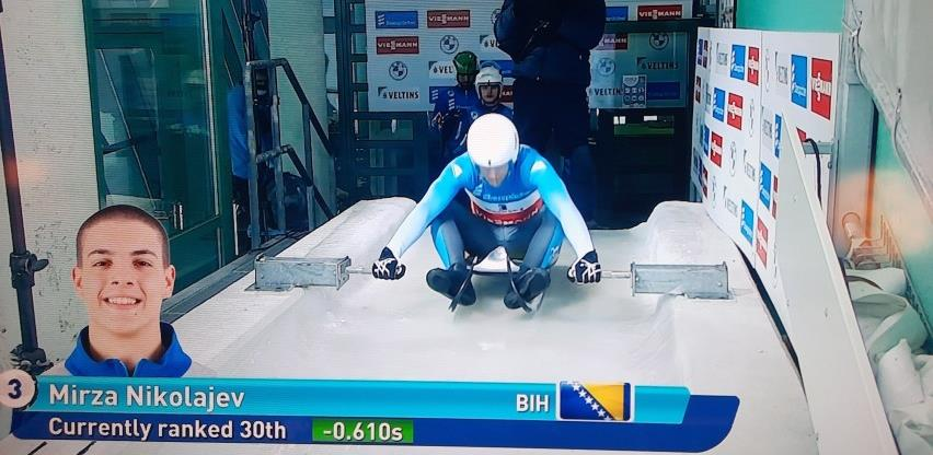 Bh. sankaš Mirza Nikolajev ispunio kriterij za olimpijsku normu