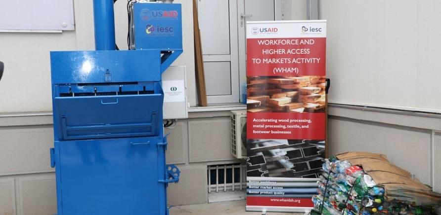 Proizveden prototip hidraulične prese za baliranje plastičnog otpada
