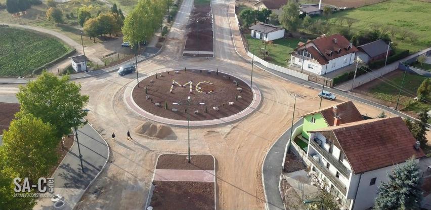 U toku su radovi na izgradnji kružnog toka u Sokolović Koloniji