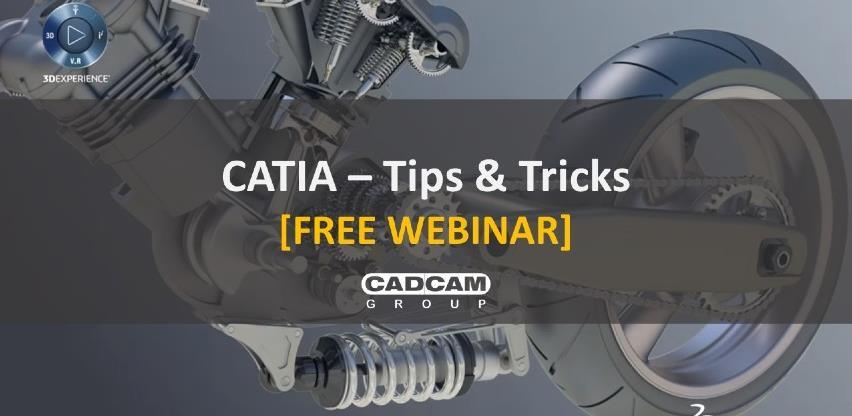 Besplatni webinari CATIA Tips & Tricks