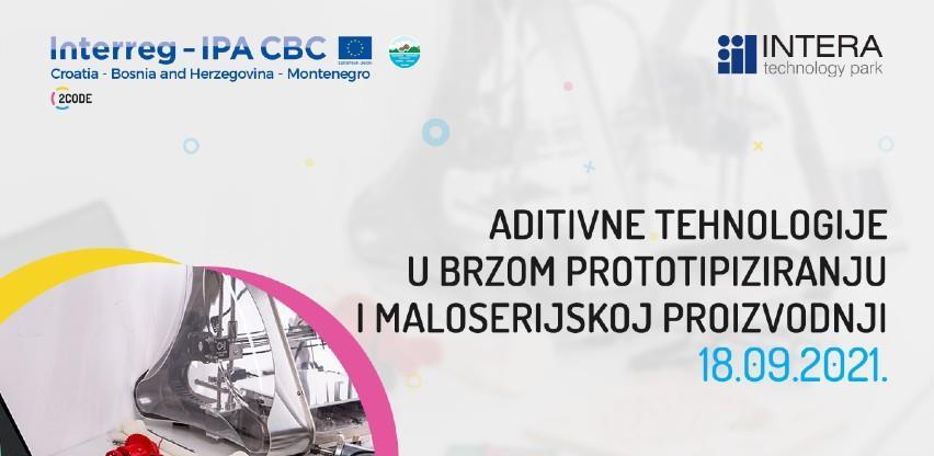 Novi meetup u INTERA TP-u: Aditivne tehnologije u brzom prototipiziranju i maloserijskoj proizvodnji