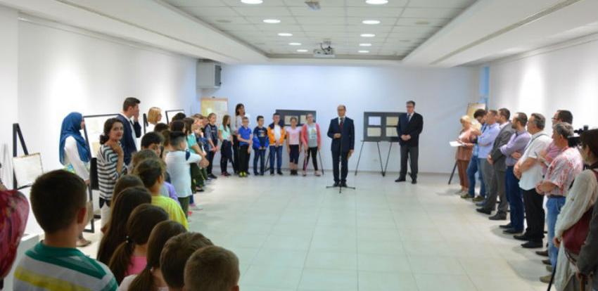 U Galeriji Općine Novi Grad otvorena izložba o pisanim radovima na arebici