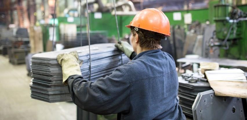 Ukupna desezonirana industrijska proizvodnja u BiH manja za 1,6 posto