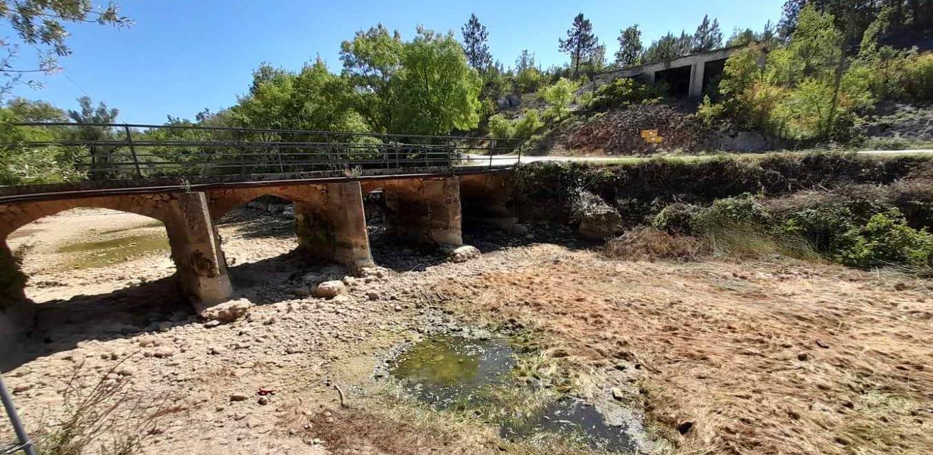 Pomor ribe u Grudama: Rijeka Tihaljina gotovo presušila