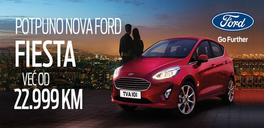 Potpuno nova Ford Fiesta u nevjerovatnoj ponudi!