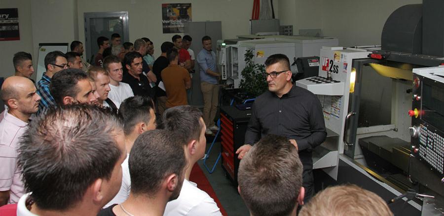 Probna predavanja za obuku CNC operatera u INTERA Tehnološkom Parku