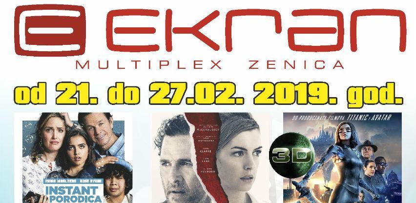 "Najava filmske sedmice u Multiplexu ""Ekran"" Zenica"