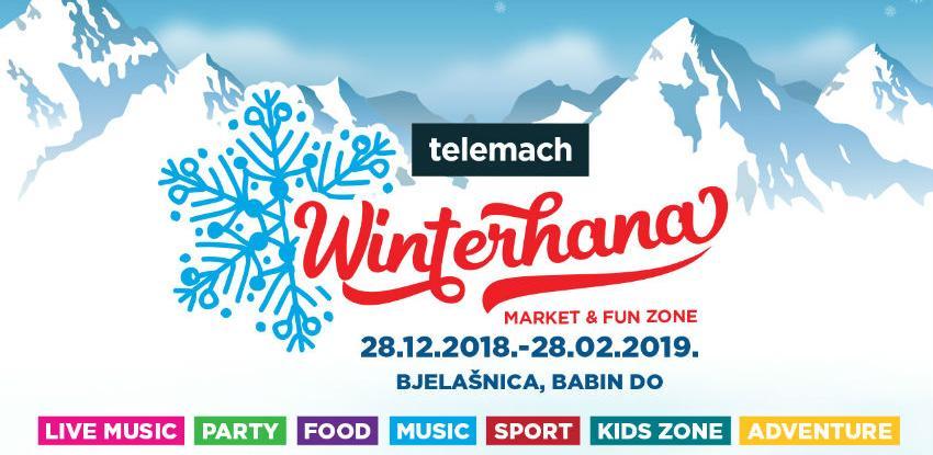 Dva mjeseca najbolje zabave: Pogledajte program Telemach Winterhana marketa