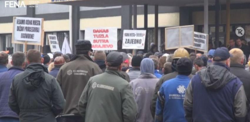 Radnici poslali poruku da ne žele zatvaranje GIKIL-a