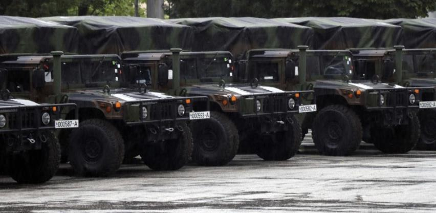 Oružane snage BiH dobile od SAD 21 višenamjensko vozilo