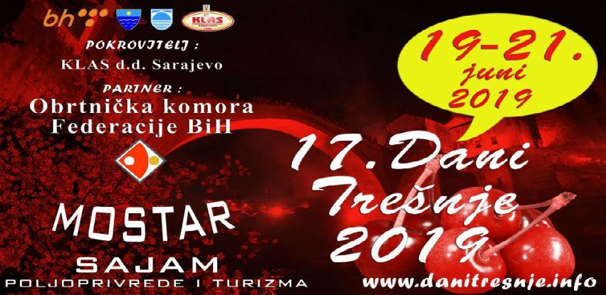 Otvorene prijave: U junu tradicionalni Dani trešnje u Mostaru