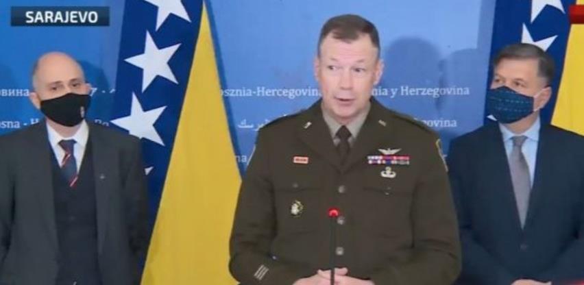 General Folkestad: NATO vrata ostaju otvorena za BiH, a BiH odlučuje hoće li ući