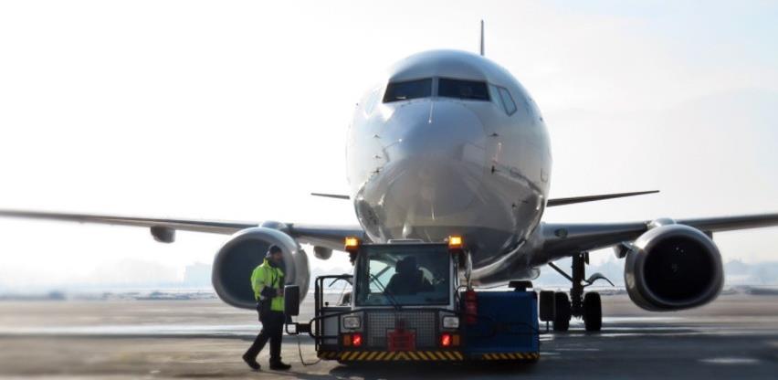 Promet aviona na aerodromima u FBiH u prošloj godini manji za 60 posto