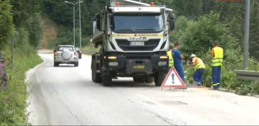 Započeli radovi na rehabilitaciji regionalnog puta na dionici Bistrica-Podgrab