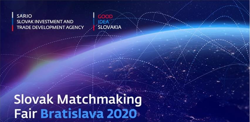 """Učestvujte na sajmu """"Slovakia Matchmaking Fair Bratislava 2020."""""""