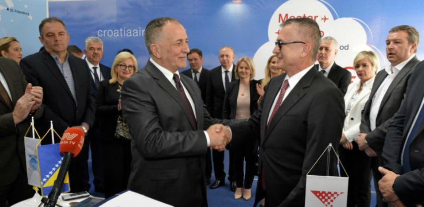 Potpisan ugovor o niskotarifnim letovima za Zračnu luku Mostar
