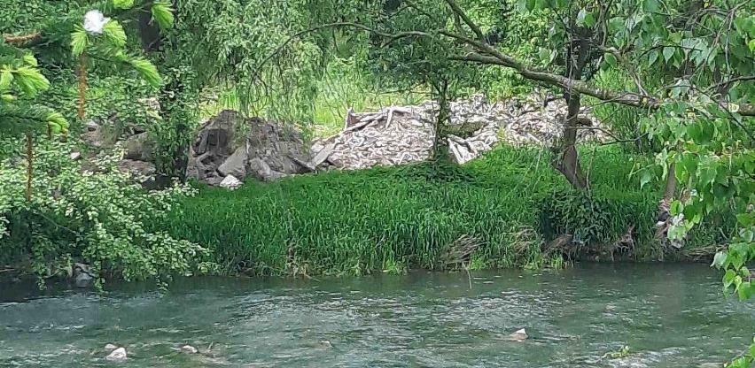 Općinski inspektori reagovali nakon našeg upita: Kraj stare vodenice nije formirana deponija