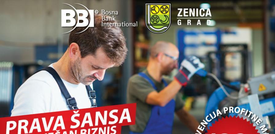 Poziv privrednicima za subvencioniranu liniju finansiranja Grada Zenica i BBI
