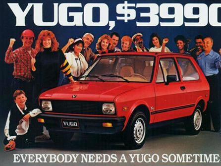 'Yugo - posljednji stvarno užasan auto!'