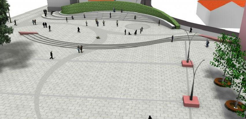 Trg Slobode u Tuzli i kompleks Slane Banje dobijaju novi izgled