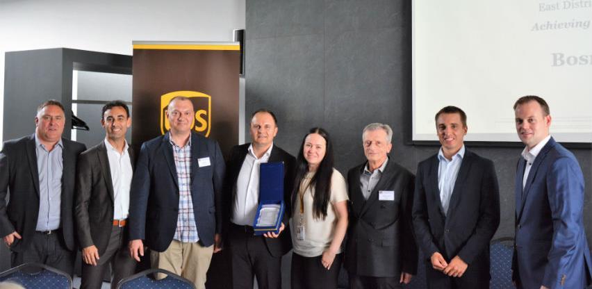 Express Courier, ovlašteni zastupnik za UPS u BiH, osvojio prestižnu nagradu