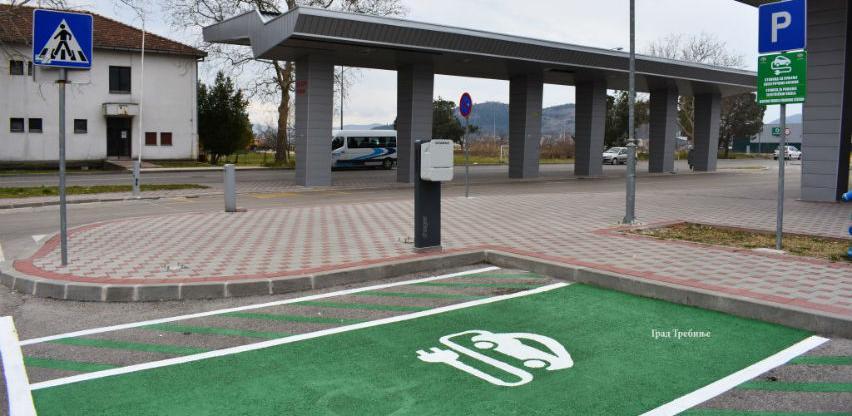 Trebinje dobilo punjač za električne automobile i bicikle