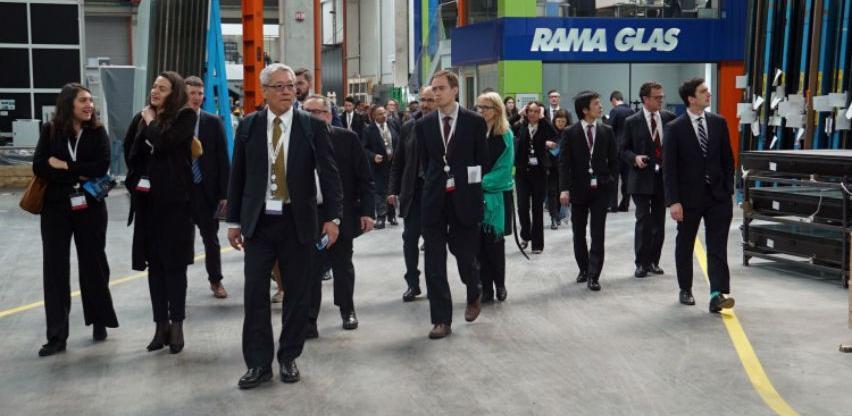 Delegacija EBRD posjetila najveću tvornicu za kaljenje stakla u regiji