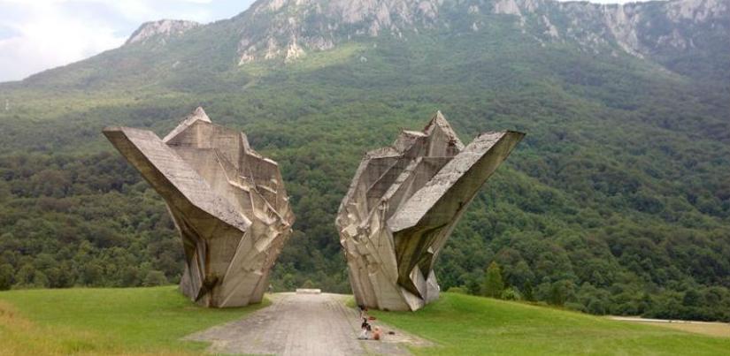 Za oko mjesec dana projekat sanacije klizišta u Dolini heroja na Sutjesci