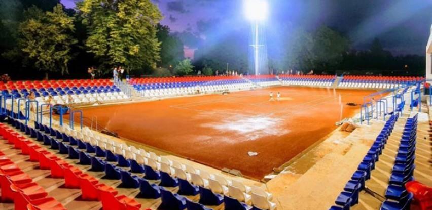 """Novi teniski teren u parku """"Mladen Stojanović"""" biće završen u predviđenom roku"""