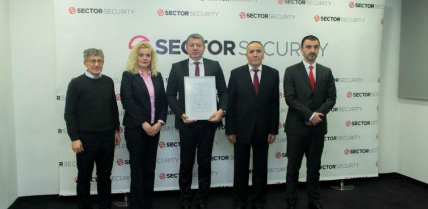 'Sector Security' prvi u BiH dobio sigurnosnu dozvolu najvišeg stepena
