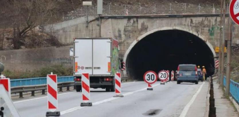 Završetak radova na tunelu Vranduk II očekuje se za deset dana