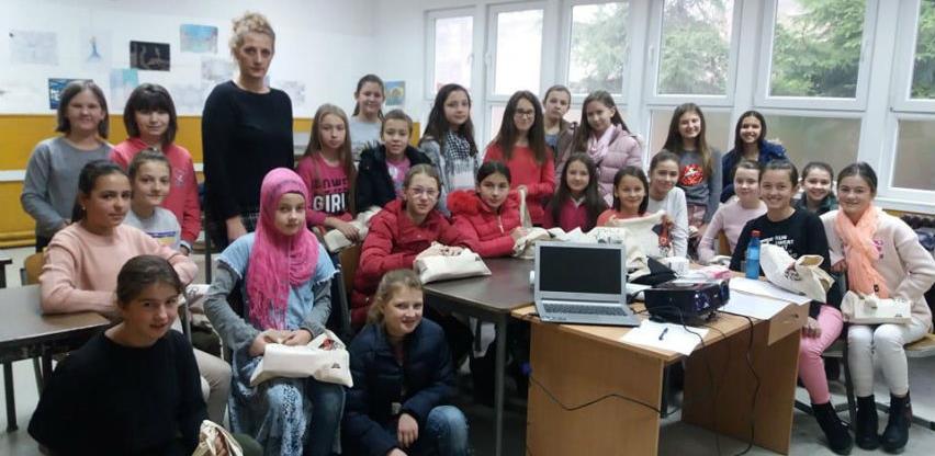 Projekt INZ-a za učenice šestih razreda okončan i u Žepču