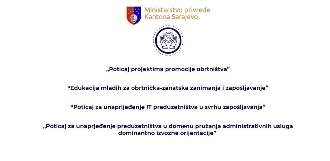 Poziv bankama i privrednicima: Ministarstvo privrede KS objavilo pet javnih poziva
