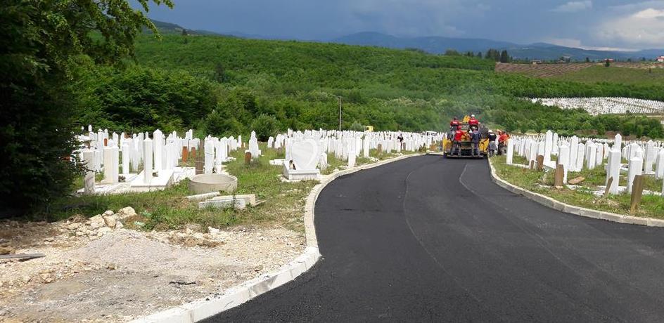"""Završen projekat proširenja gradskog groblja """"Vlakovo"""""""
