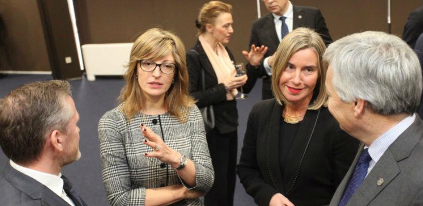 Šefovi diplomatije EU nastavljaju razgovore u Sofiji