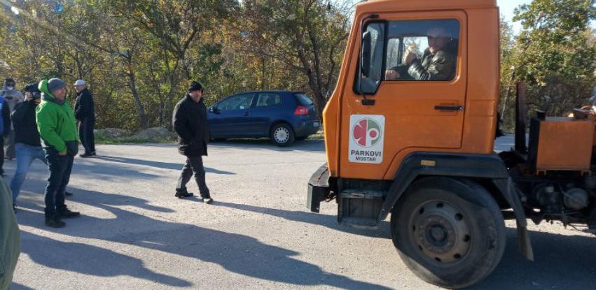 Ponovno blokirano mostarsko odlagalište otpada na Uborku