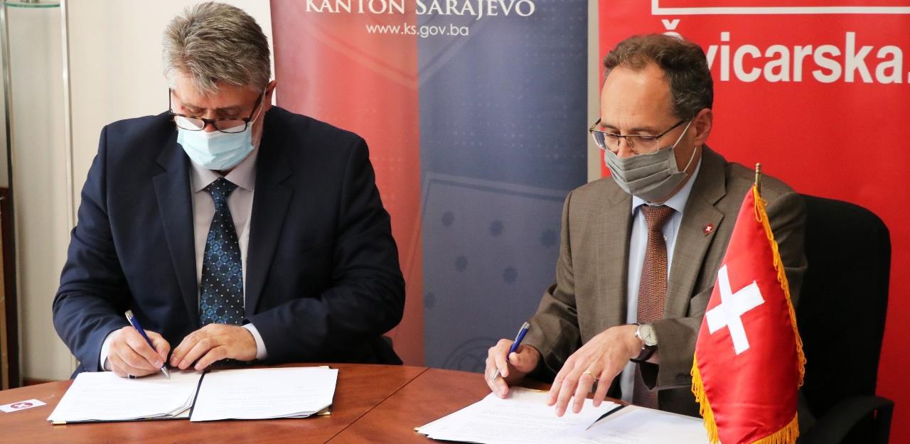 Švicarska pruža podršku u projektu 'Urbana transformacija Sarajeva'