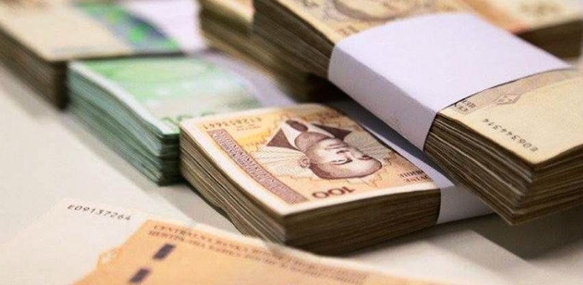 U januaru prikupljen 621 milion KM indirektnih poreza