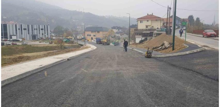 Završni radovi na mostu u novoj industrijskoj zoni u Vogošći