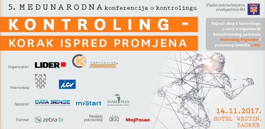 5. međunarodna konferencija o kontrolingu, 14. studenoga u Zagrebu