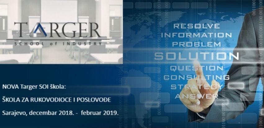 Targer School of Industry trening: Škola za rukovodioce i poslovođe