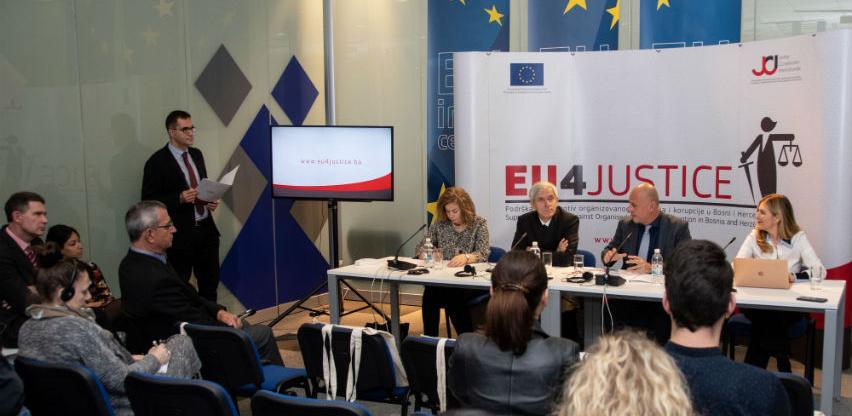 Dodatnih 2,2 miliona eura iz EU za borbu protiv kriminala i korupcije u BiH